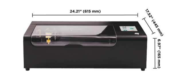 Cortadora láser CO2 (30W) portátil