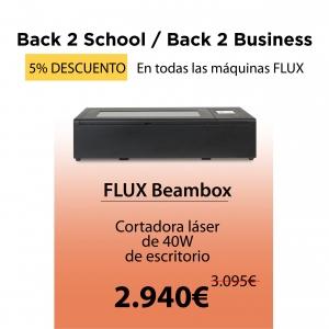 Beambox – Cortadora láser de sobremesa (40W)